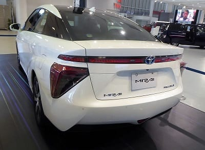 Toyota Mirai - Hydrogen Fuel Vehicle