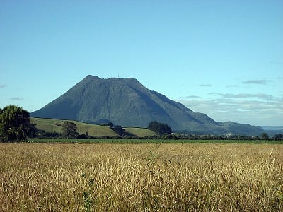Geothermal Energy - Dormant Volcano in Eastern Bay of Plenty, New Zealand