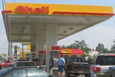 Hydrogen Fuel - Image of Shell Gas Station