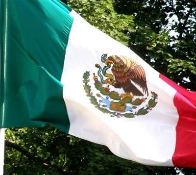Wind Energy Growth - Mexico Flag