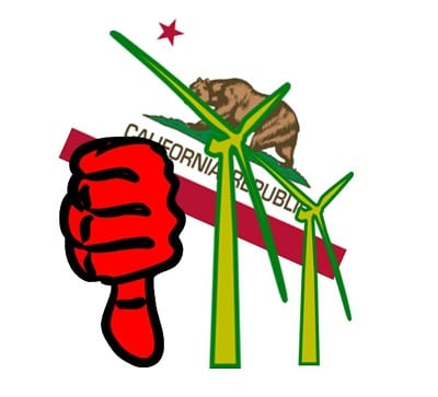 Wind Energy in California Losing Support