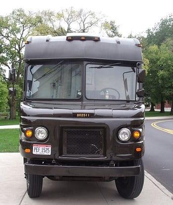 Landfill gas alternative fuel - image of UPS Truck