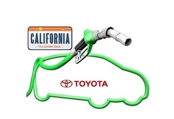 Toyota Hydrogen Fuel Stations California