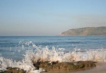 Wave Energy - wave on beach