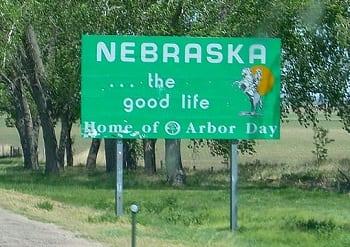 Clean Vehicles - Nebraska sign