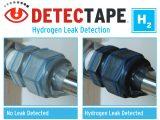 Detectape hydrogen leak tape
