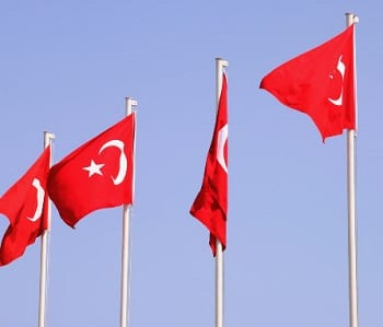 Geothermal Energy - Turkey Flag