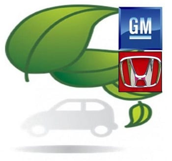 Hydrogen Fuel Projects - General Motors and Honda