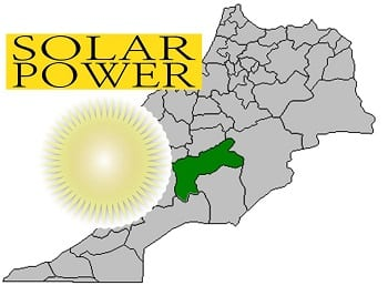 Solar Power Plant - Ouarzazate, Morocco