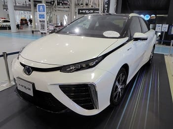 Toyota Mirai - Hydrogen Fuel Cells