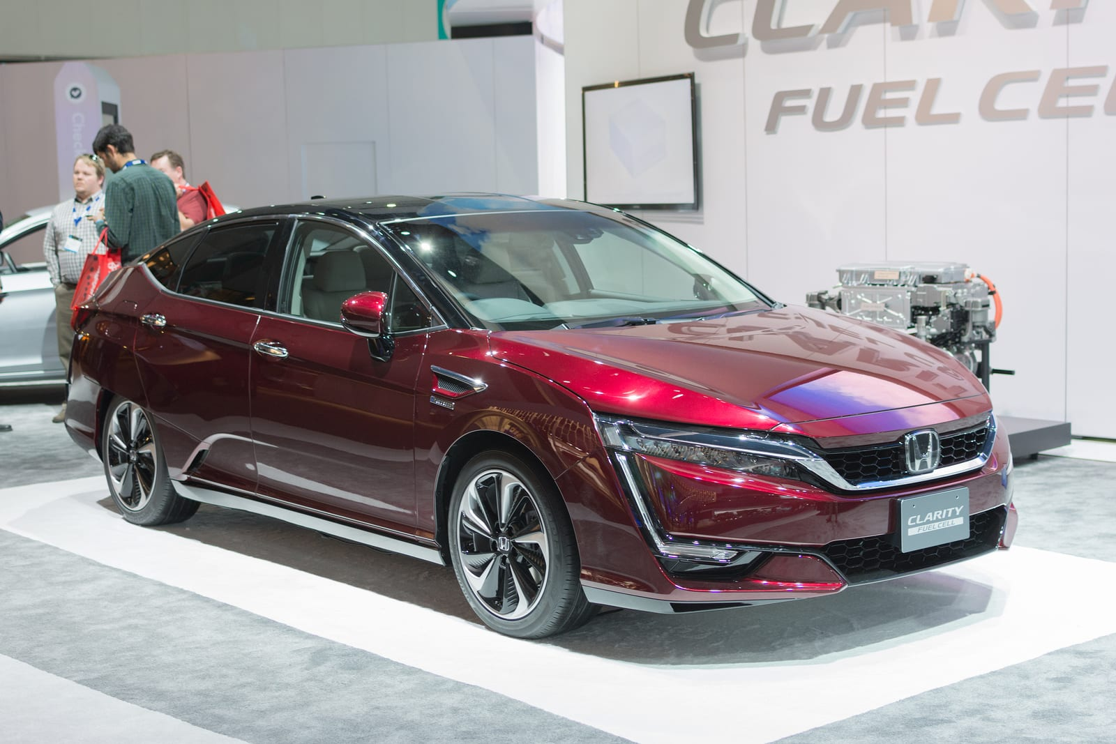 Honda Clarity - Hydrogen Fuel Cell Vehicle