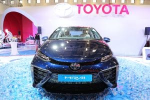 Hydrogen Car - Toyota Mirai