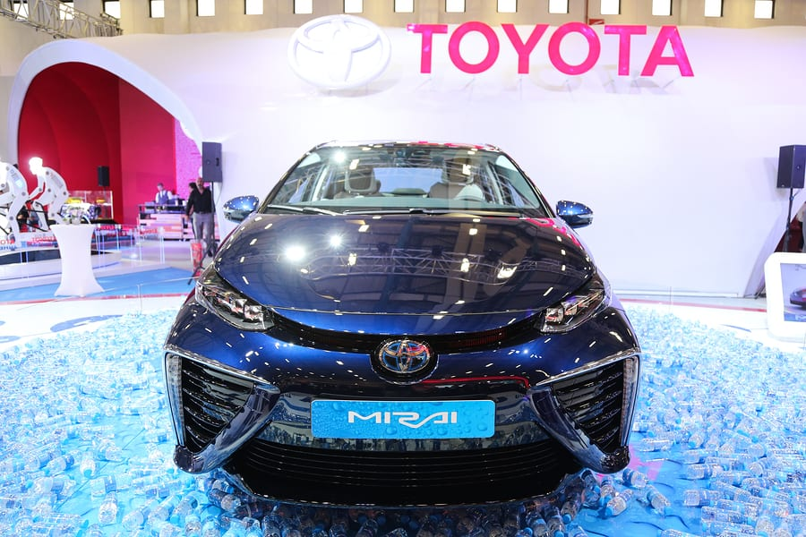 Fuel Cell Car - Toyota Mirai