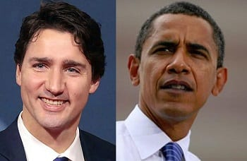 Climate Change - Justin Trudeau & Barack Obama team up