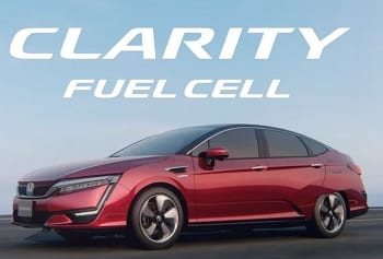 Clarity Fuel Cell - Hydrogen Fuel