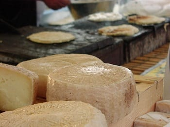 Biogas made from cheese