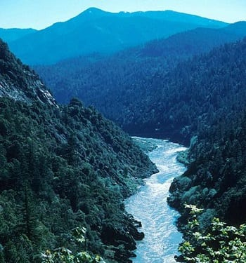 Hydroelectric Dams - Klamath River in California