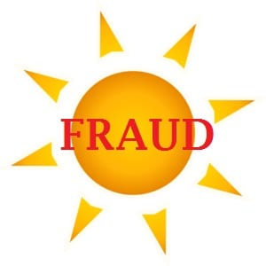 Solar Energy Fraud