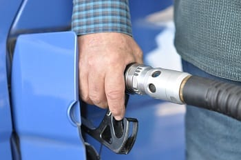 Hydrogen Fuel Station - Image of Refueling Gas Vehicle