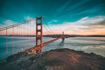 San Francisco Clean Transportation - Golden Gate Bridge