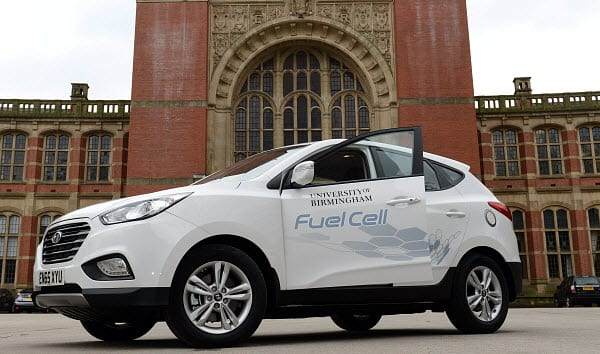 University of Birmingham - Hyundai fuel cell vehicle