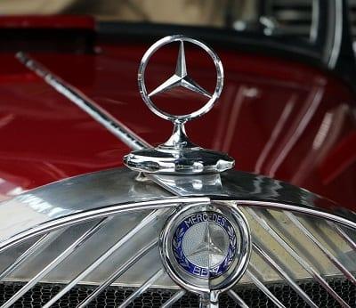 Hydrogen Fuel Cells - Mercedes-Benz Car