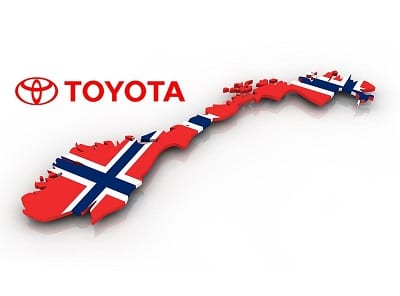 Toyota Hydrogen Fuel Cars  Delivered to Norway