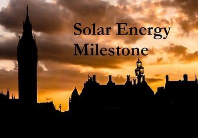United Kingdom Solar Energy Reaches Milestone