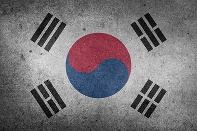 Fuel Cell Vehicles - South Korean Flag