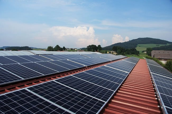 Solar Energy Systems - Solar Panels on Roof