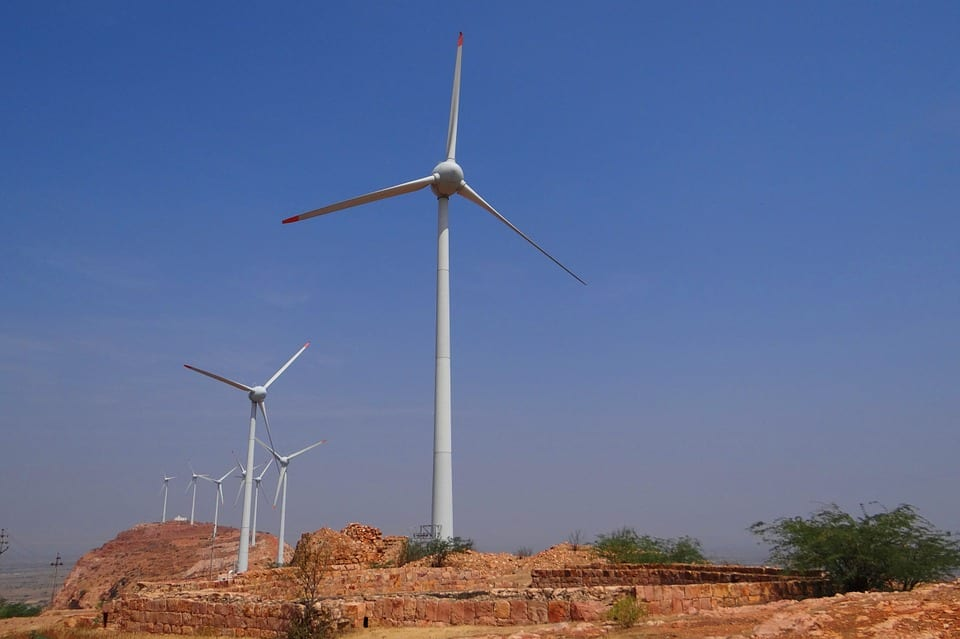 India wind energy turbine