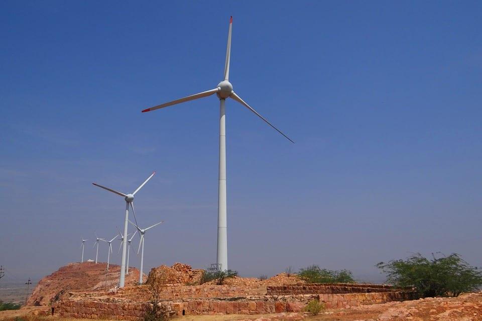 India wind energy turbine