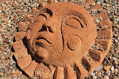 Solar Energy New Mexico - Southewestern Art Sun Face