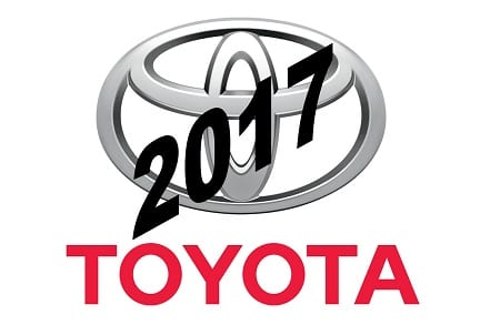 2017 Fuel Cell Vehicle - Toyota Logo