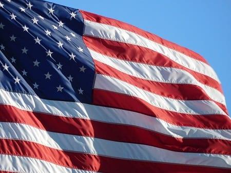 American Flag - Solar Energy Market Struggles