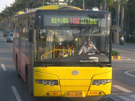Hydrogen Fuel Cells - Bus in China