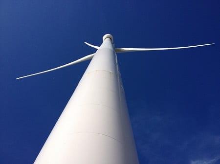 Offshore Wind Energy - Tall Wind Turbine