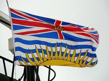Hydrogen Fuel Infrastructure - British Columbia Flag