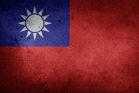 Offshore Wind Energy - Taiwan Flag