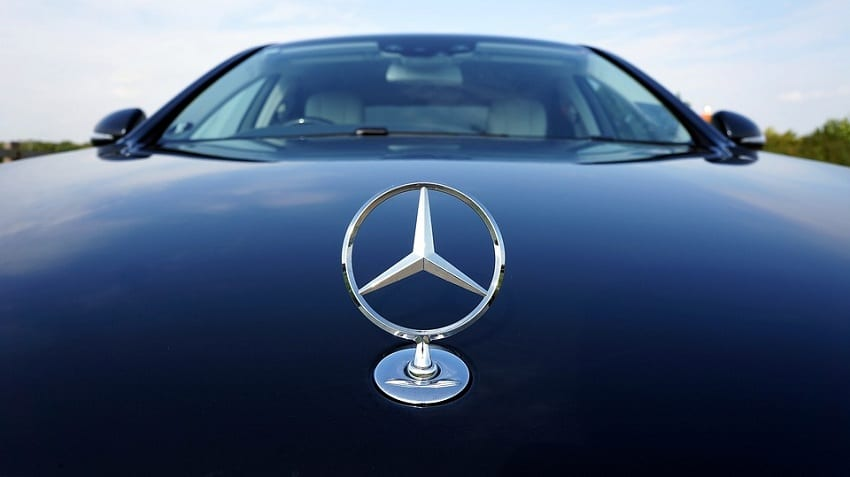 Fuel Cell Vehicles - Image of Mercedes-Benz Car