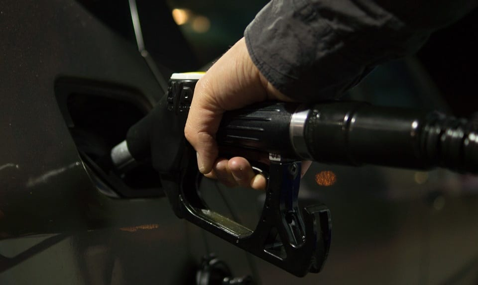 Hydrogen Fuel Stations - Image of man pumping fuel