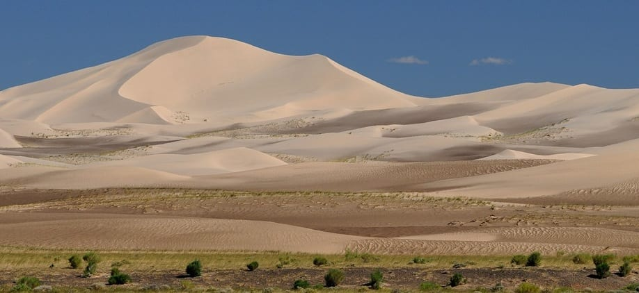 Wind Energy - Image of Gobi Desert