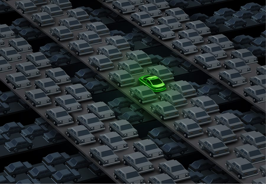 China is leading the transportation market with electric vehicles