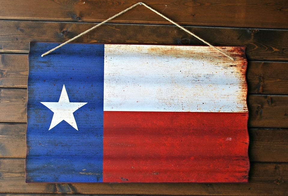 Soalr Energy - Texas Flag