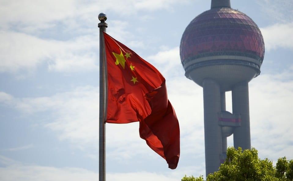 Solar Energy - Chinese Flag