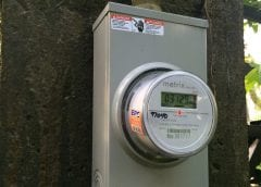 Solar Energy - Image of Net Metering Device
