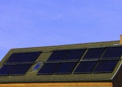 Solar Energy - Solar Panels on Roof of Home