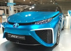 Toyota Fuel Cell Vehicle - Image of Toyota Mirai