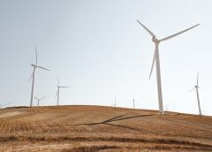 Wind Energy - Turbines in Field