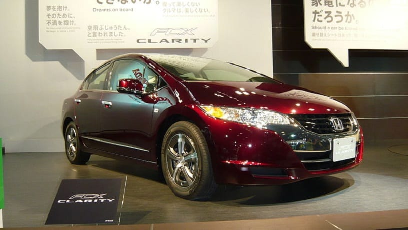 Clarity Fuel Cell - Image of Honda FCX Clarity